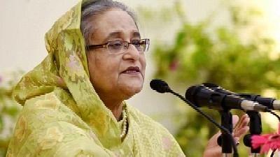 Sheikh Hasina Warns of Tough Action Against Those Behind Durga Puja Attacks