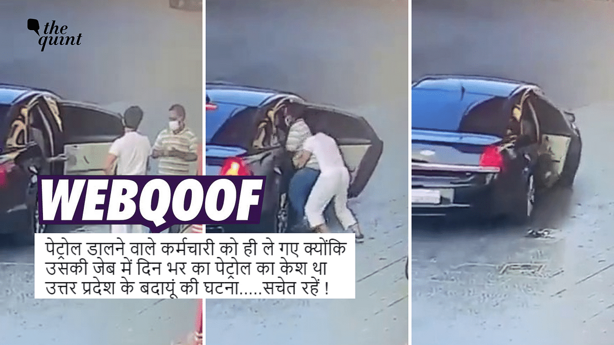 Clip of Petrol Pump Worker's Abduction Falsely Shared as Incident From UP