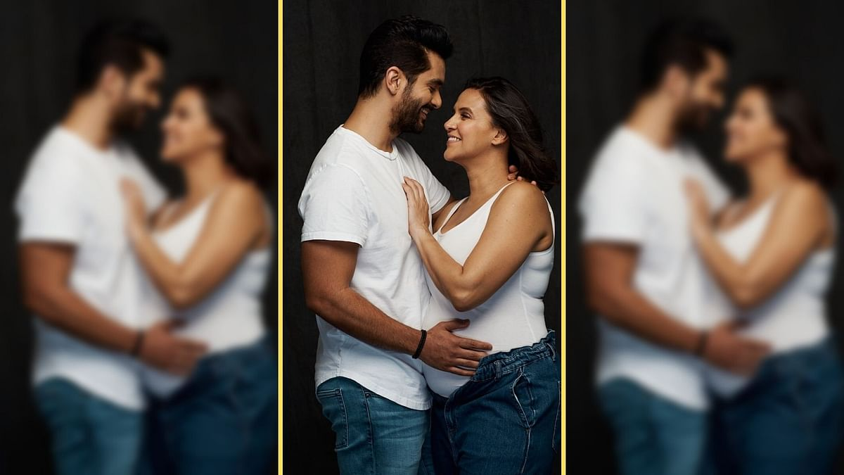 """<div class=""""paragraphs""""><p>Neha Dhupia and Angad Bedi welcome a baby boy.</p></div>"""