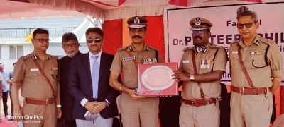 """<div class=""""paragraphs""""><p>Prateep V Philip sports the name badge and the cap that he had worn on 21&nbsp;May 1991.</p></div>"""