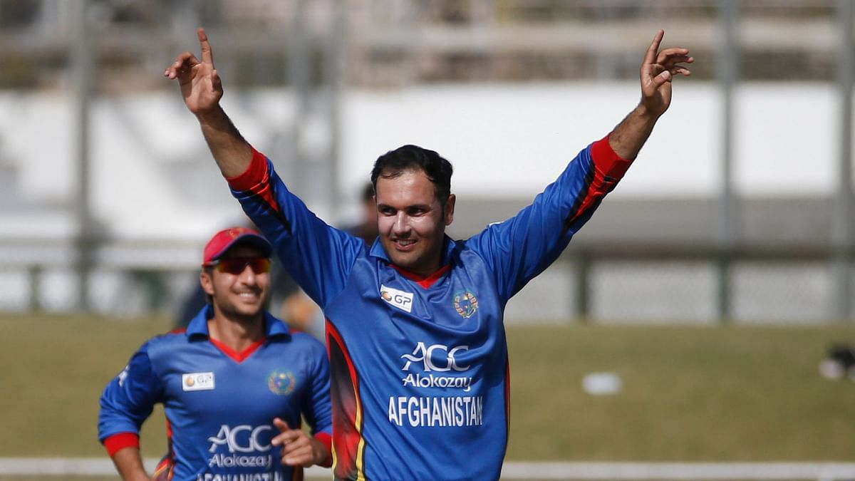 """<div class=""""paragraphs""""><p>Mohammad Nabi has been named captain of Afghanistan's squad for the 2021 T20 World Cup.</p></div>"""