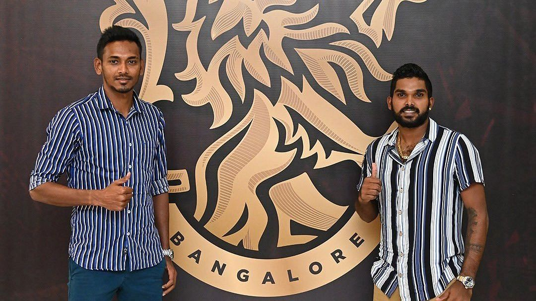 IPL 2021: RCB Release Wanindu Hasaranga & Dushmantha Chameera From Bio-bubble