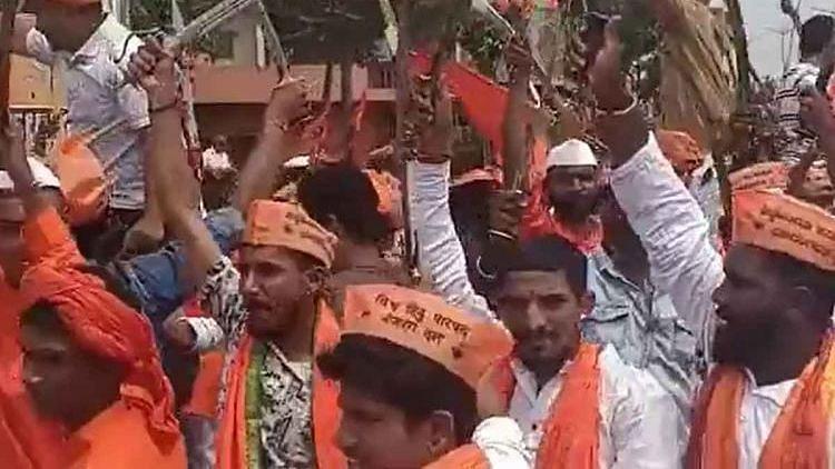Bajrang Dal Members Dance With Swords in Karnataka, Police to Take Action