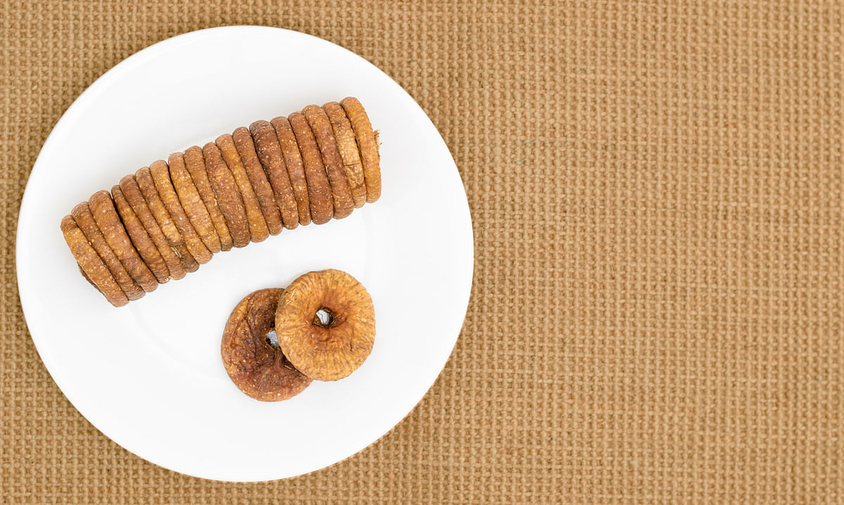 Dried figs are a good source of calcium.