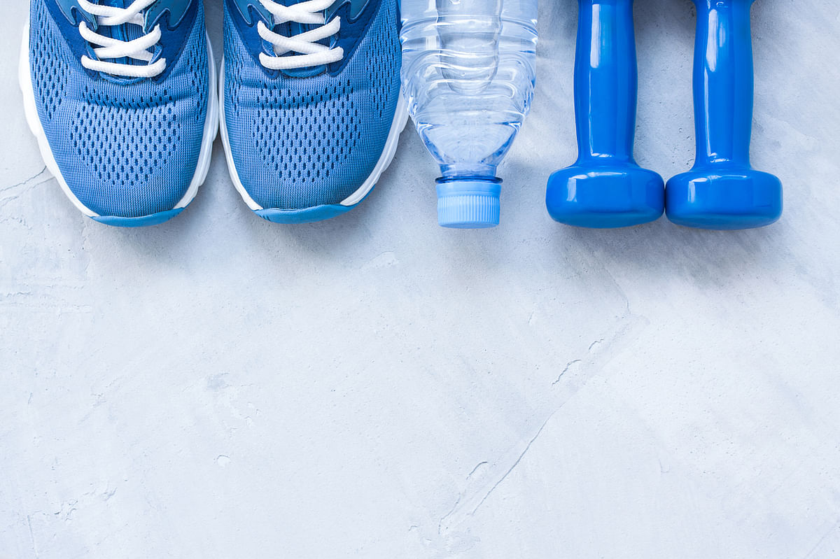 If you value your ankles and knees, get hard-soled running shoes for cardio.