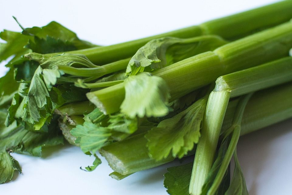 Celery contains androsterone, a hormone naturally produced in males that stimulates sexual arousal in females.