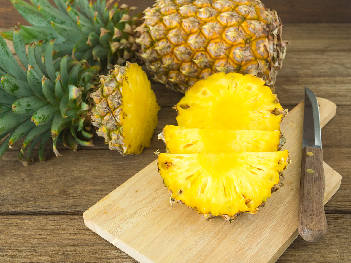 Pineapple is the only major dietary source of bromelain, a unique protein digesting enzyme that has anti-inflammatory properties.