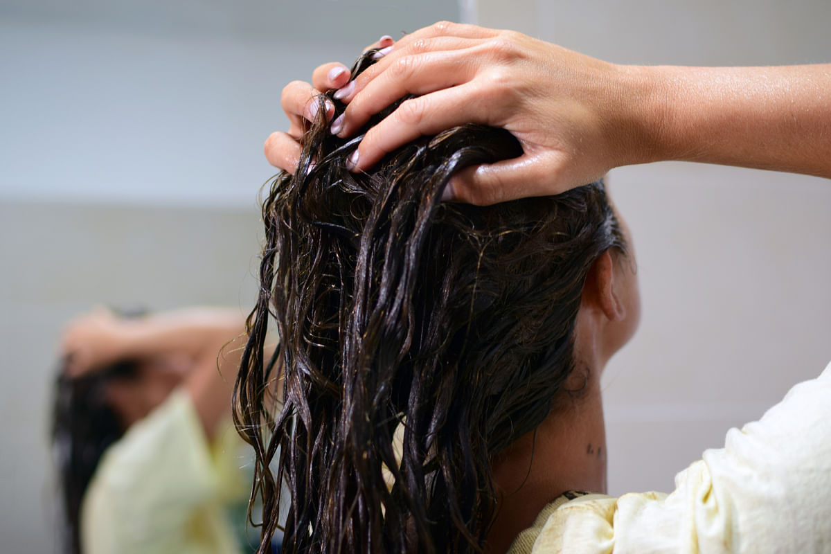 Use a conditioner after shampoo.