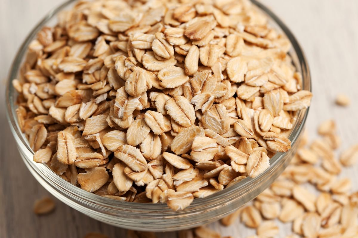 Oats help treat erectile dysfunction.