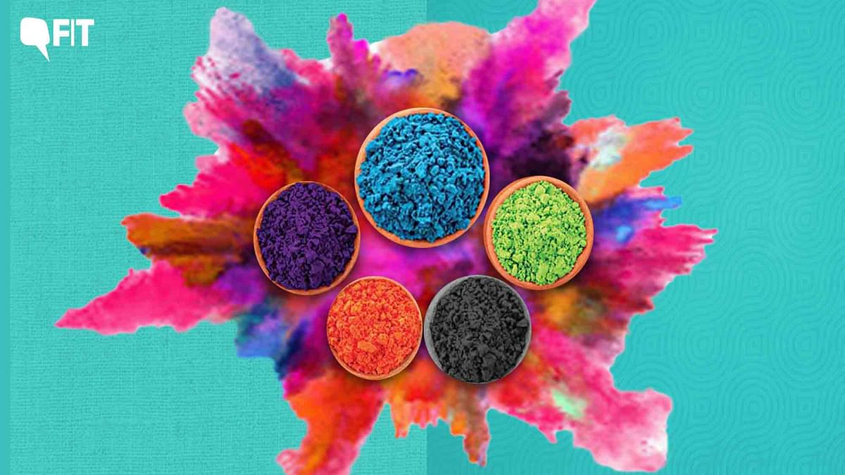 From Tree Leaves to Toxic Chemicals - How We Make Holi Colours Now
