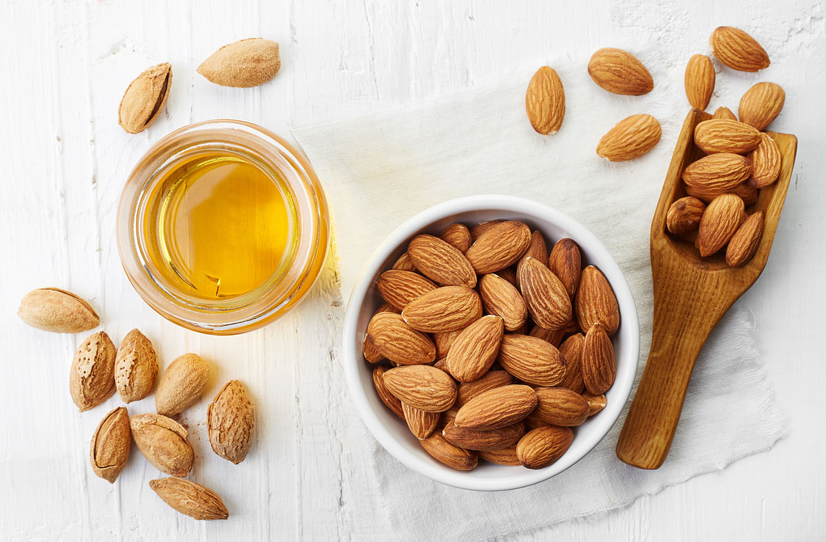 Almonds reduce the LDL levels in the body, while maintaining or increasing the HDL-C levels.