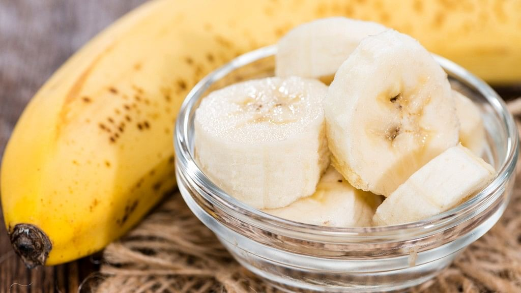 Banana is an excellent source of potassium, which is needed to help  skeletal muscles flex and contract during our workout.
