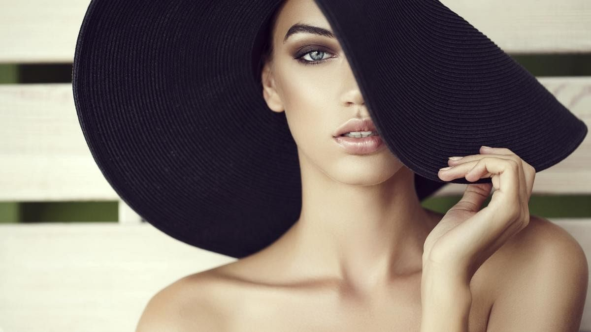 Use a wide brimmed hat or a scarf when outdoors.