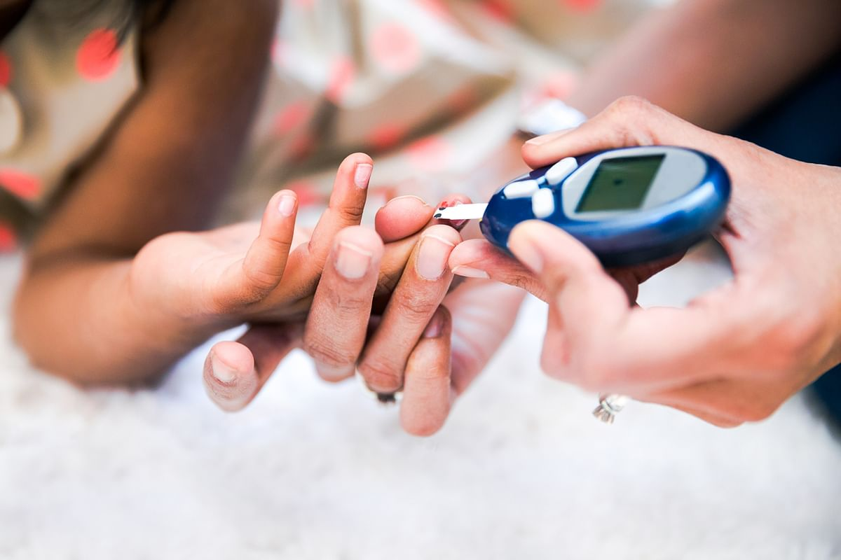 Concerns about low-carb diet in type 1 diabetes include sudden drop in blood sugar levels, high risk of hypoglycemia.