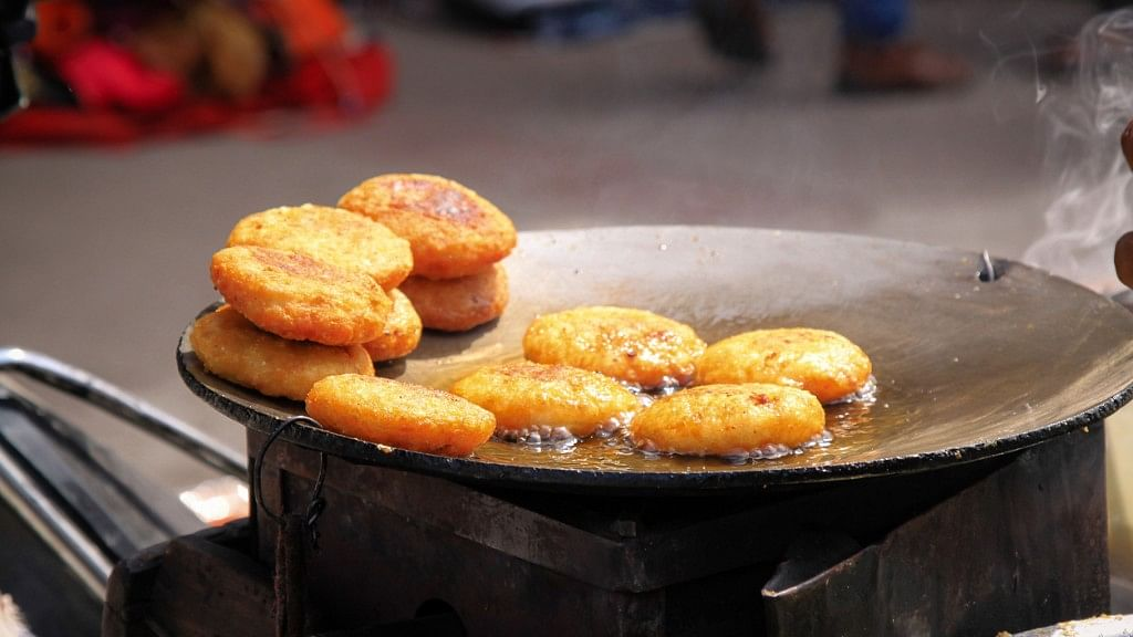 Most Indian households also reuse oil for frying.