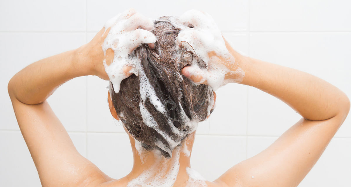 You can tackle a greasy scalp with dry shampoo.