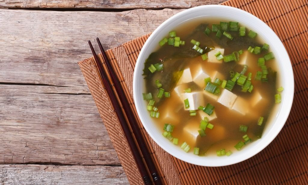 """Miso contains """"good"""" bacteria for a healthy gut."""