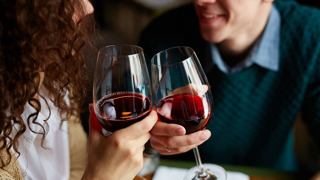 Drinking only one pint of beer or a large glass of wine is enough to significantly compromise a person's sense of agency.