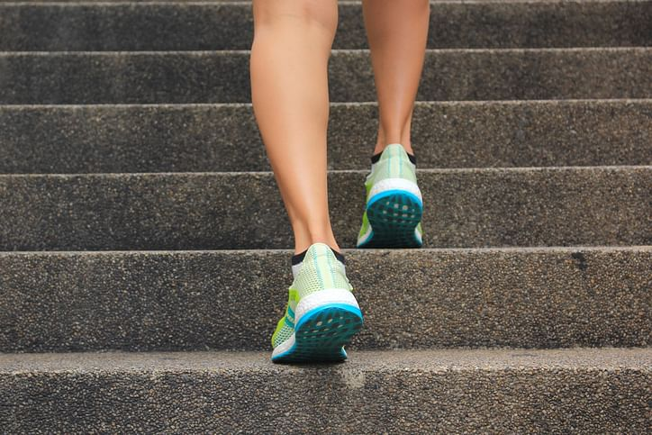 Climbing stairs helps improve your cholesterol numbers, as per new research.