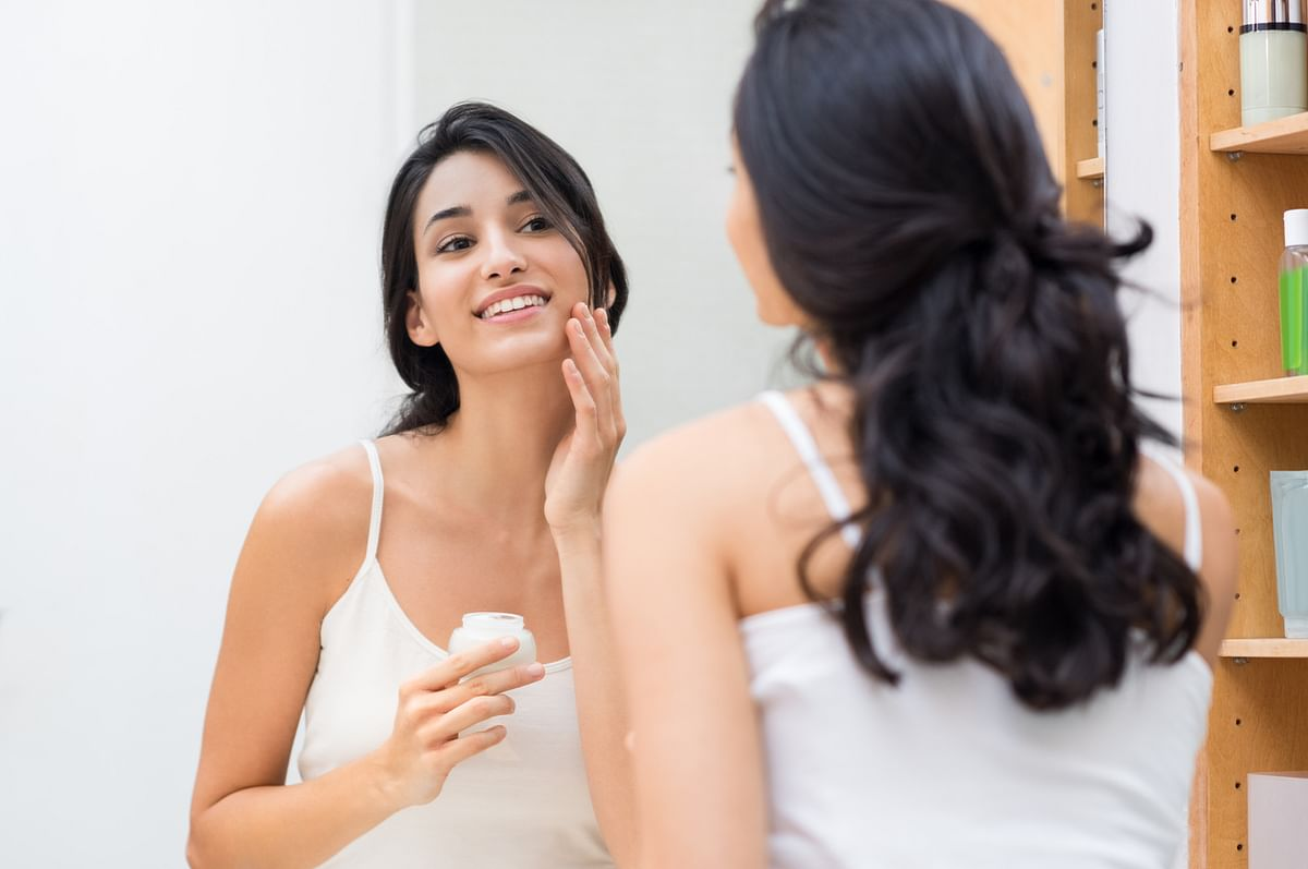 Dry skin will experience wrinkling and show signs of ageing faster than plump, hydrated skin.