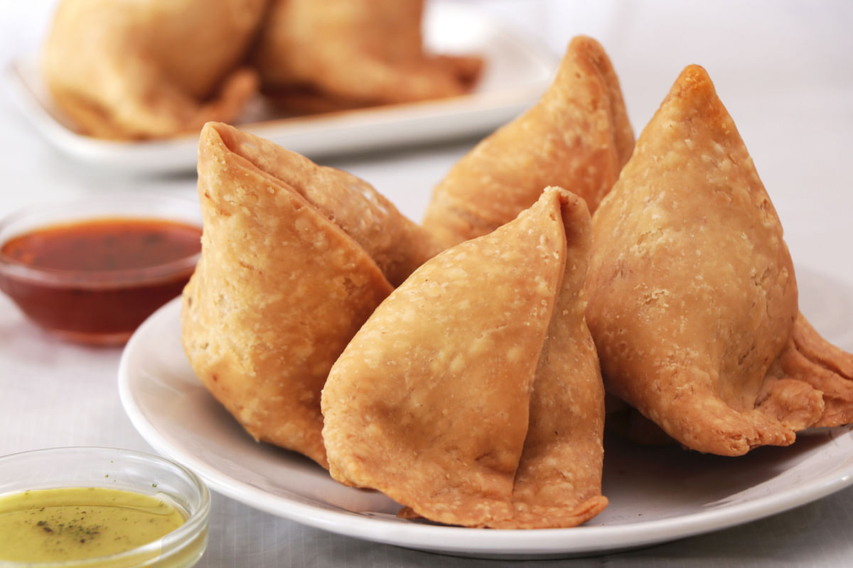 Indian food items like samosa are rich in trans fats especially when cooked outside.