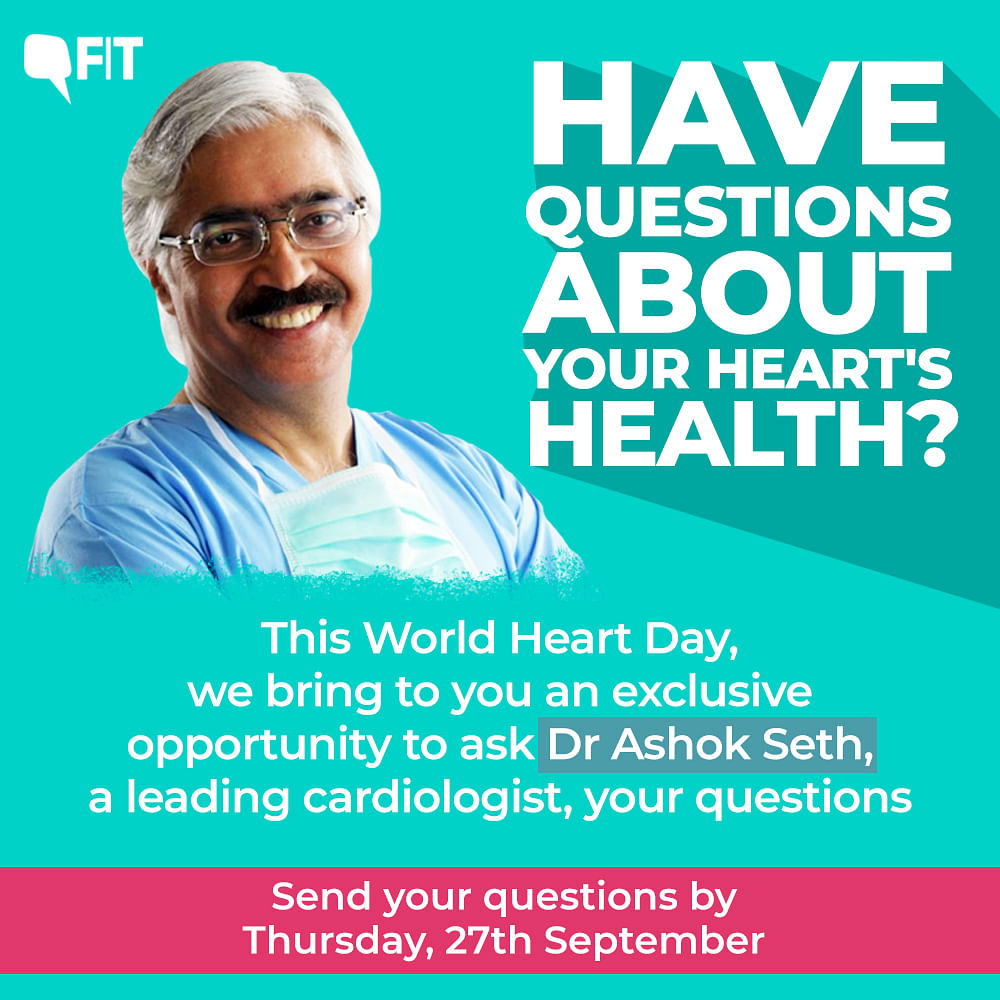 World Heart Day Exclusive: Expert Q&A, Ask Dr Ashok Seth