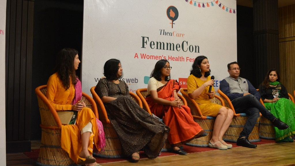 A panel discussion at the event.