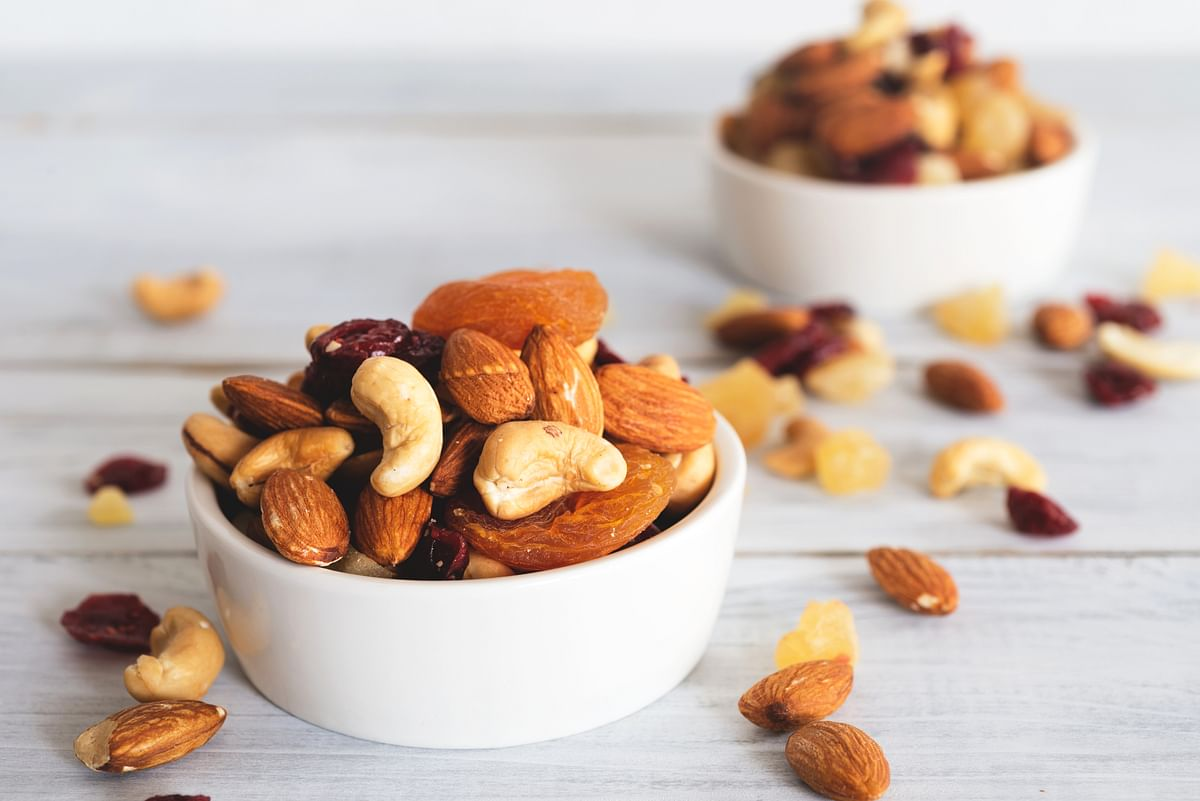 Keep your nut consumption to about 30 gms/day.
