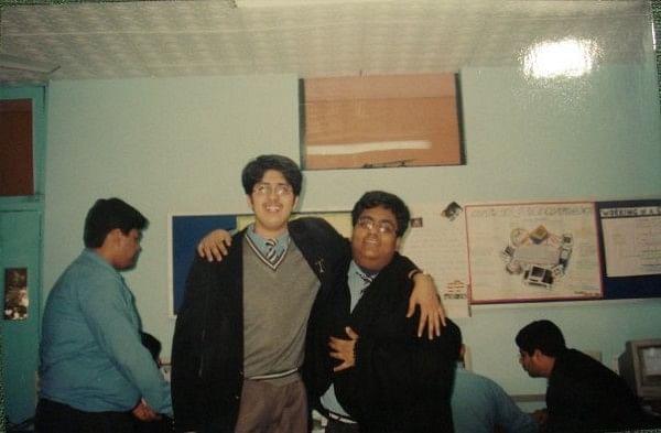That's me in school.