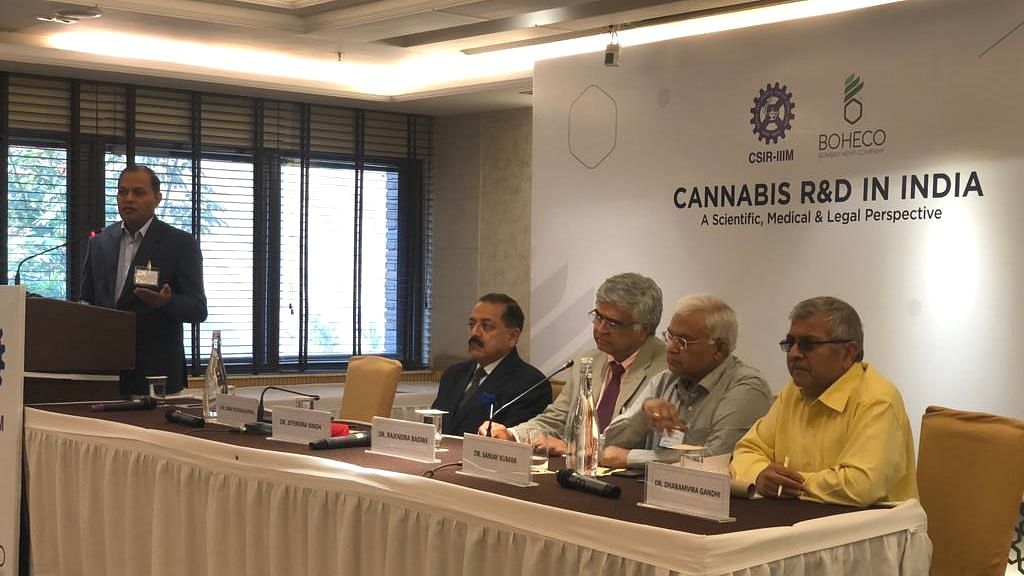 The conference was held on Friday in Delhi.