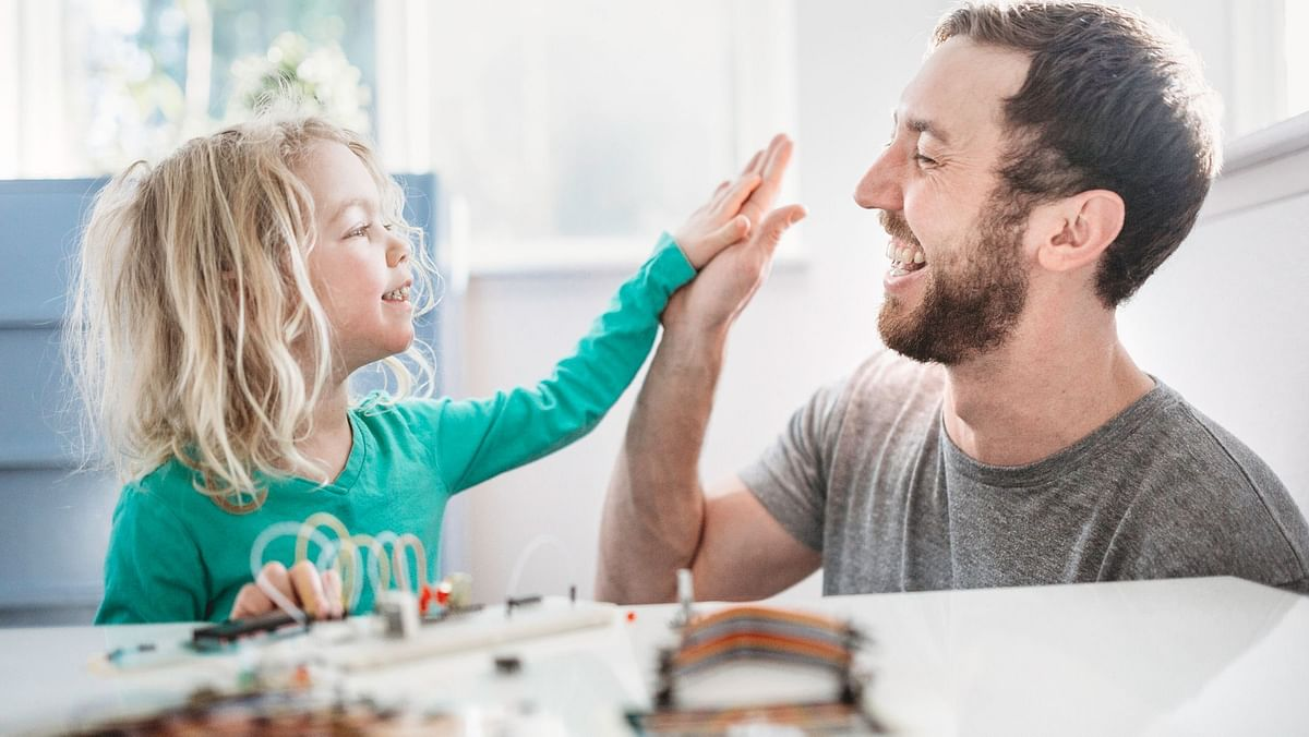 Fathers provide a significant role in a child's mental upbringing.