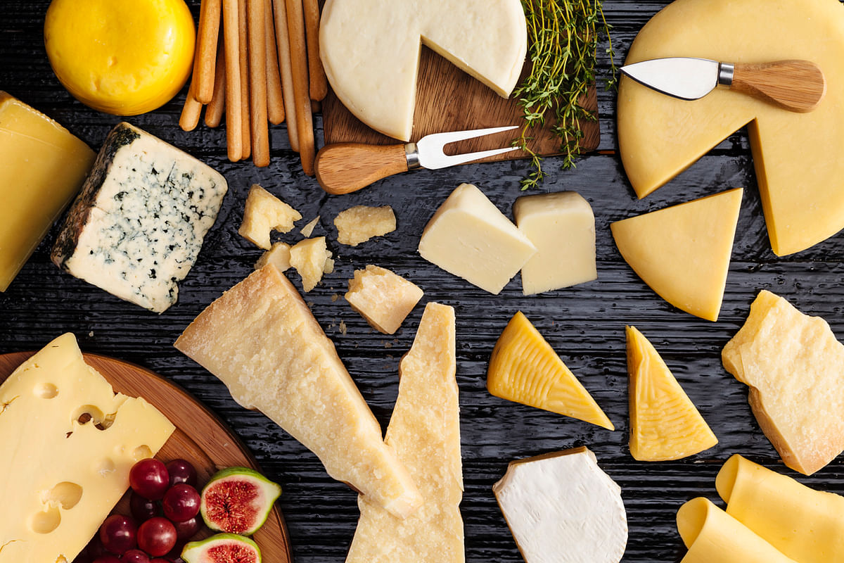 The MIND diet recommends limiting your cheese consumption to less than once per week.