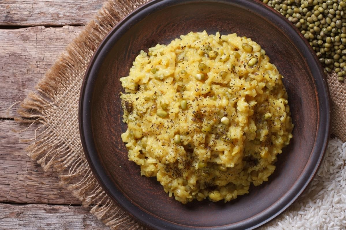 Khichdi is an easy to prepare dish that also fulfills your body's protein needs.