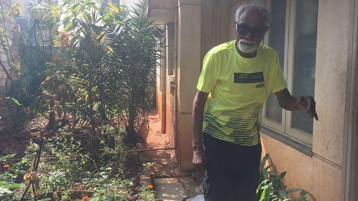 Janardan lives alone and happily independent in Bengaluru.