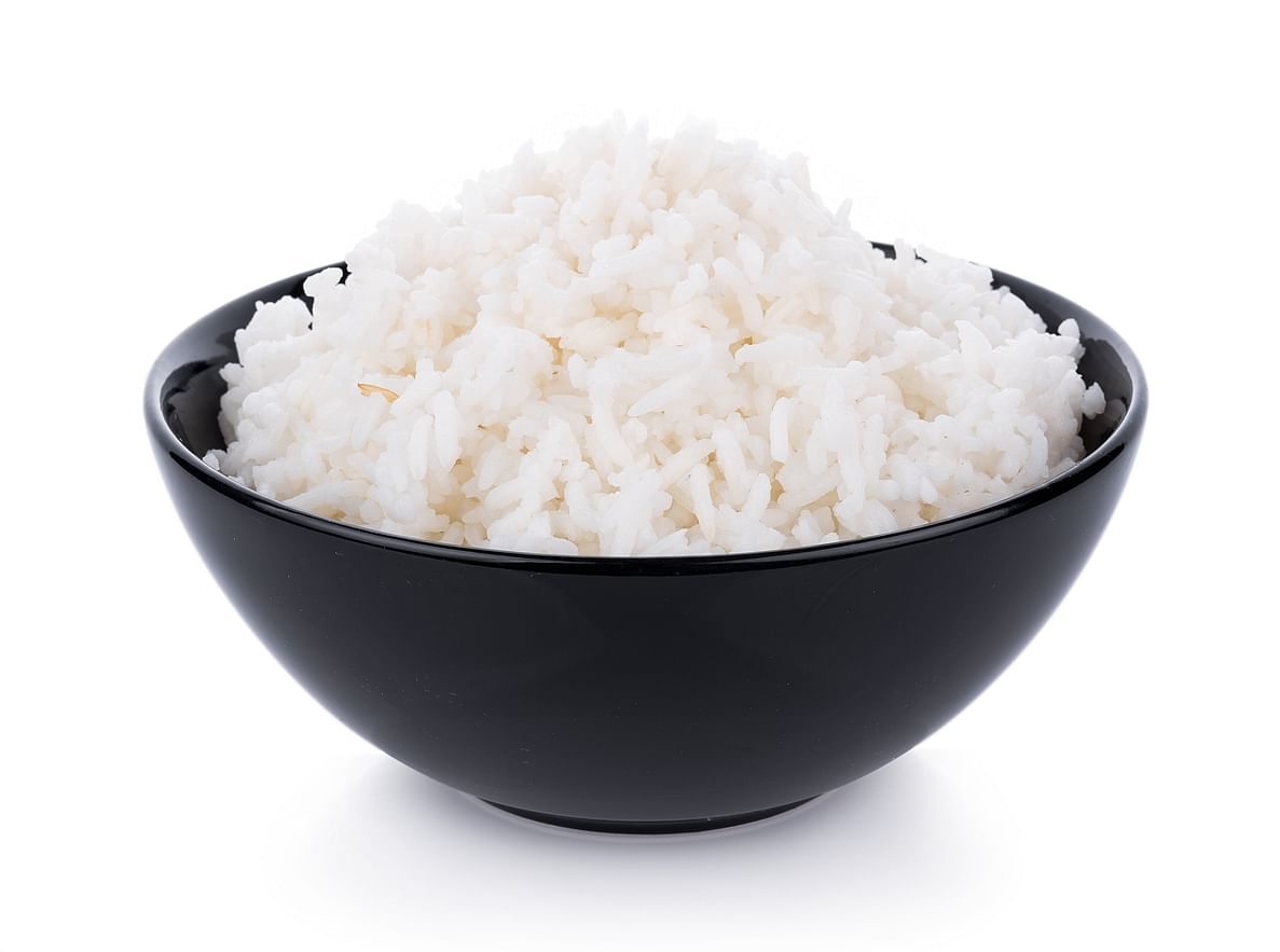 Rice is eaten a lot across the country.
