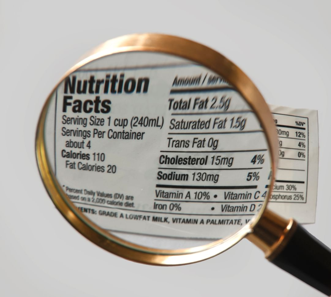 A serving size is not what fills up the packet.