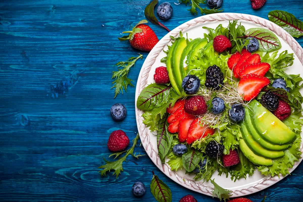 Include berries and green leafy vegetables.