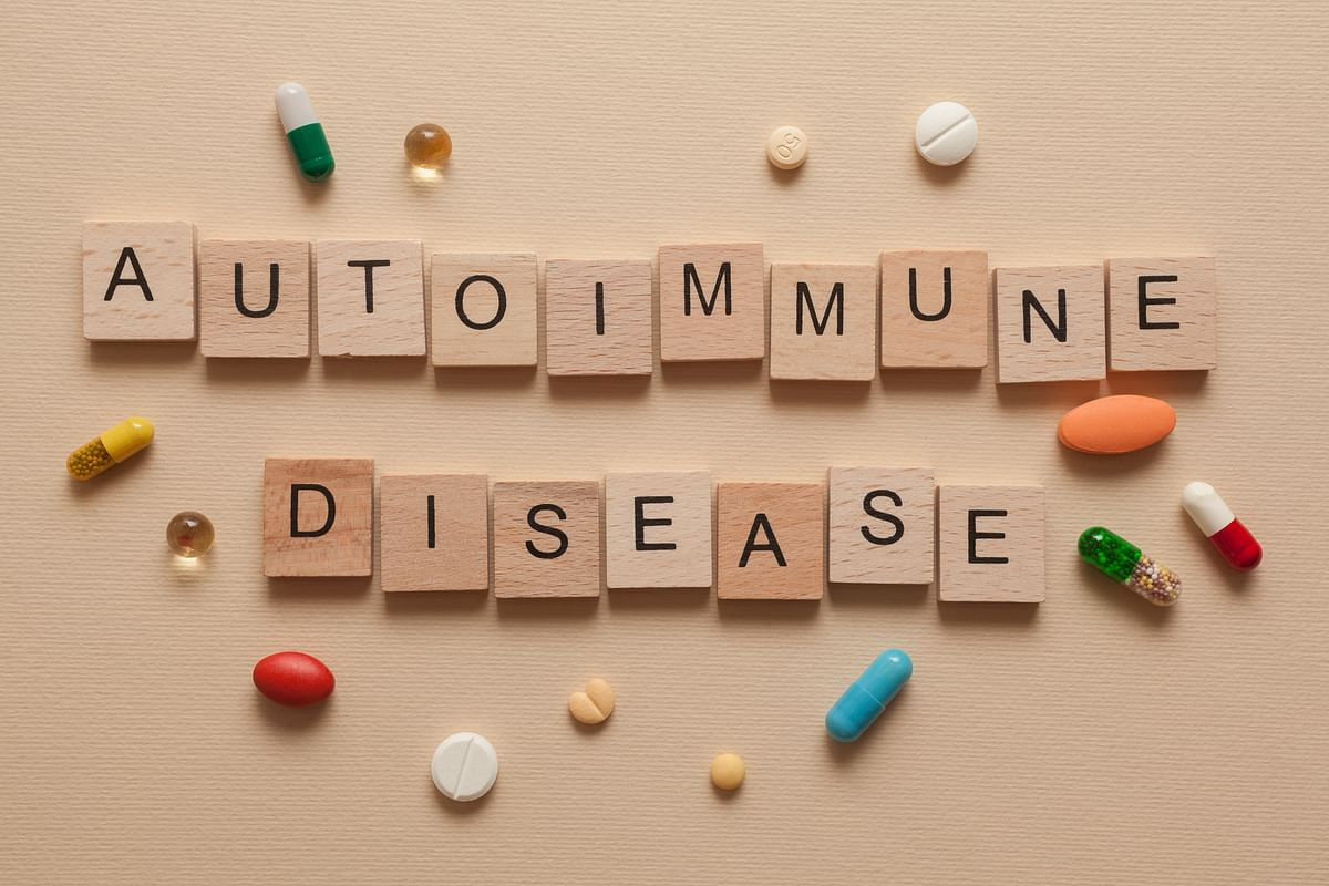 An autoimmune disease the immune system begins to attack the body mistakenly thinking it to be foreign.