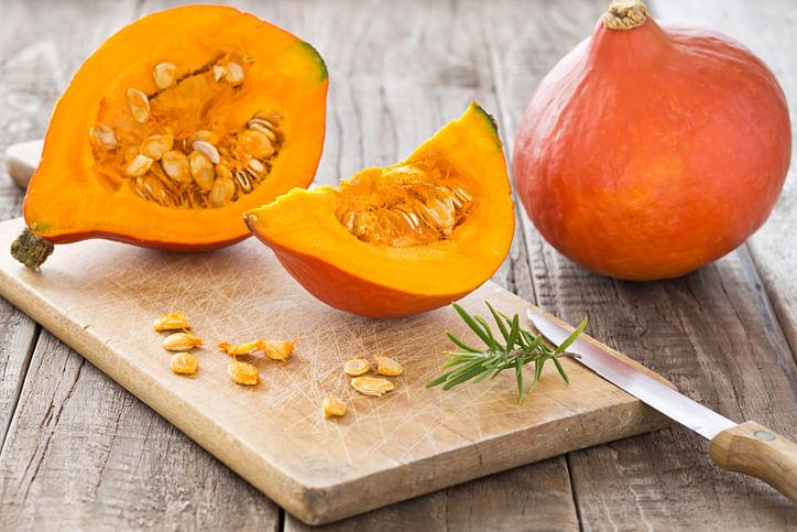 Pumpkin delivers lots of potassium.