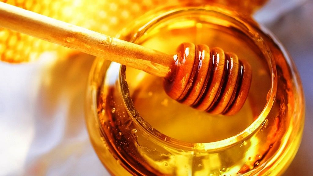Honey is packed with enzymes and natural acids.