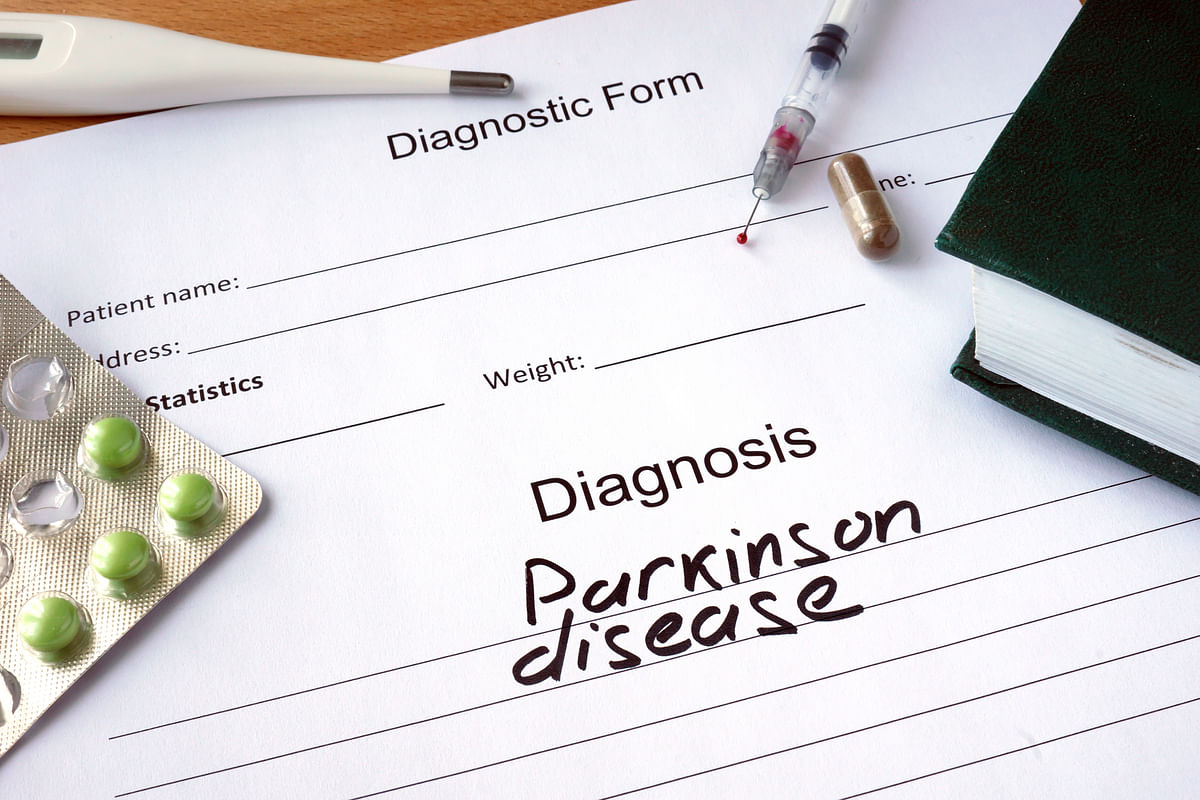 There is no single defining symptom or sign of Parkinson's, but a combination of warning signs.
