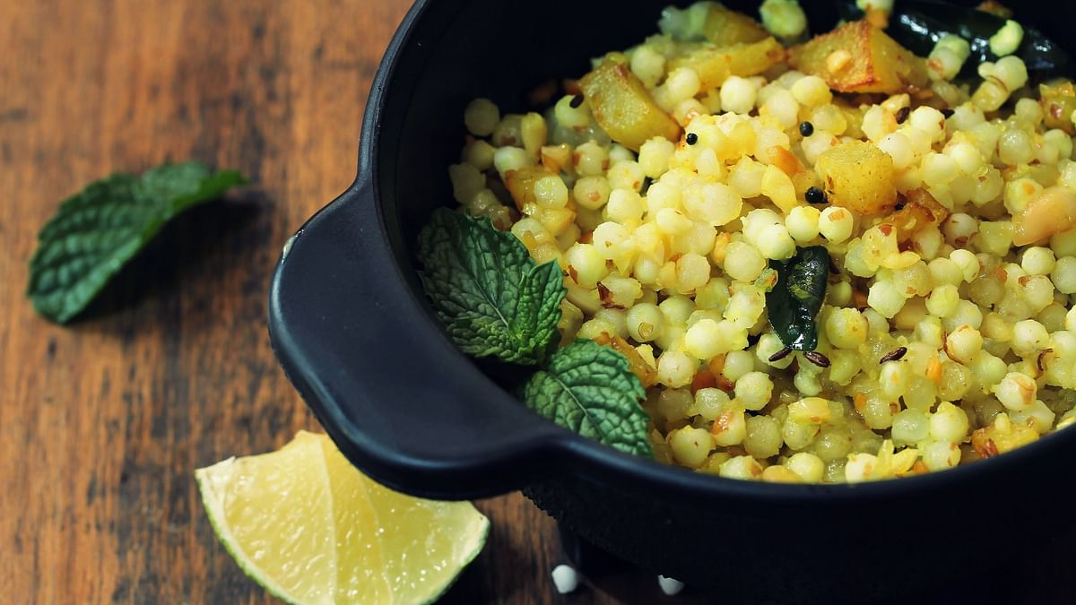 Include foods like sabudana in your diet for a healthy navratri.
