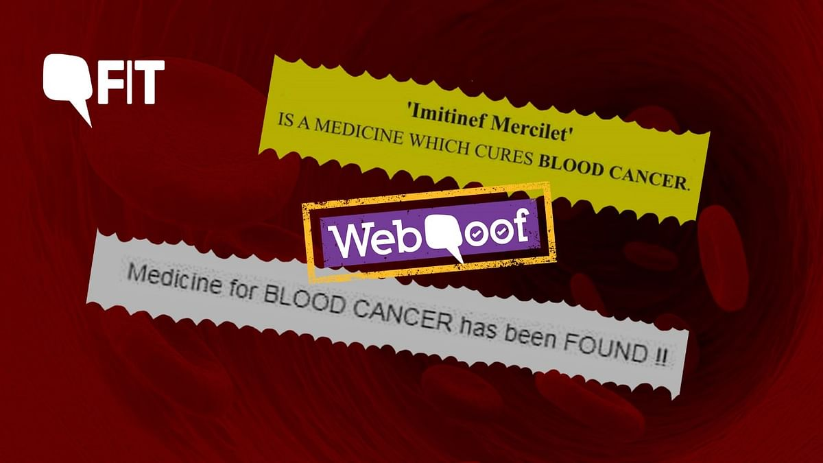 FIT WebQoof: There is No Miracle  Medicine That Cures Blood Cancer