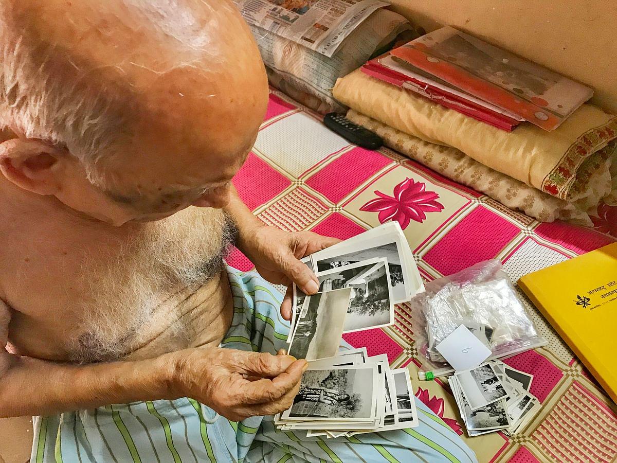 Narayan has a massive collection of photos.