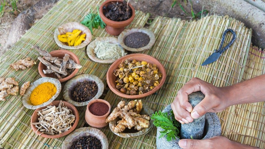 Taste with health, the ayurvedic thali.
