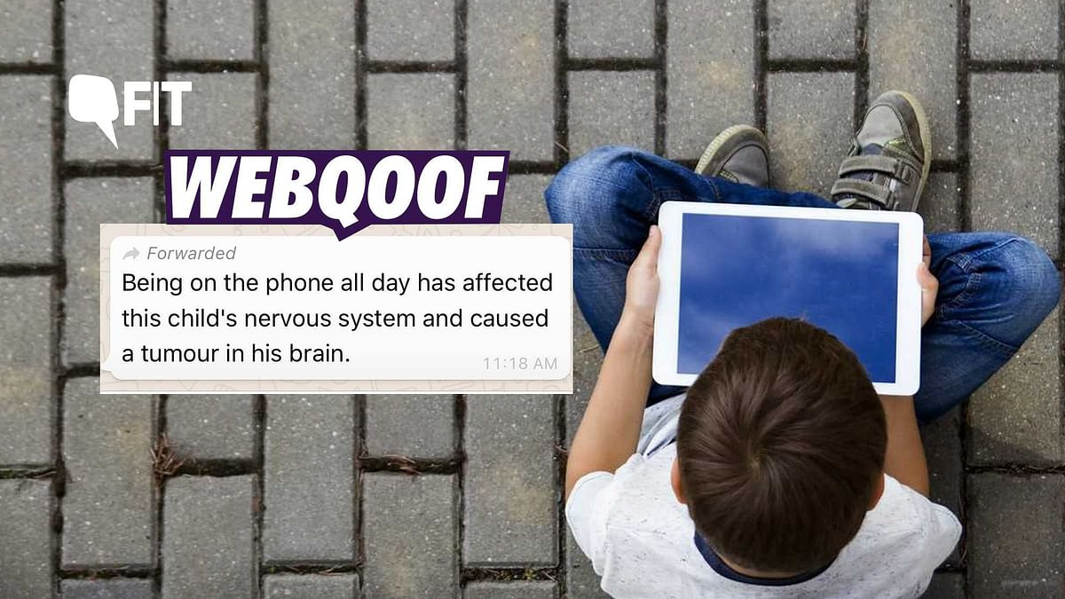 FIT WebQoof: Can Excessive Mobile Phone Usage Cause Brain Tumor?