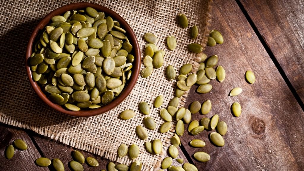 Pumpkin seeds are packed with magnesium, which helps in improving constipation.