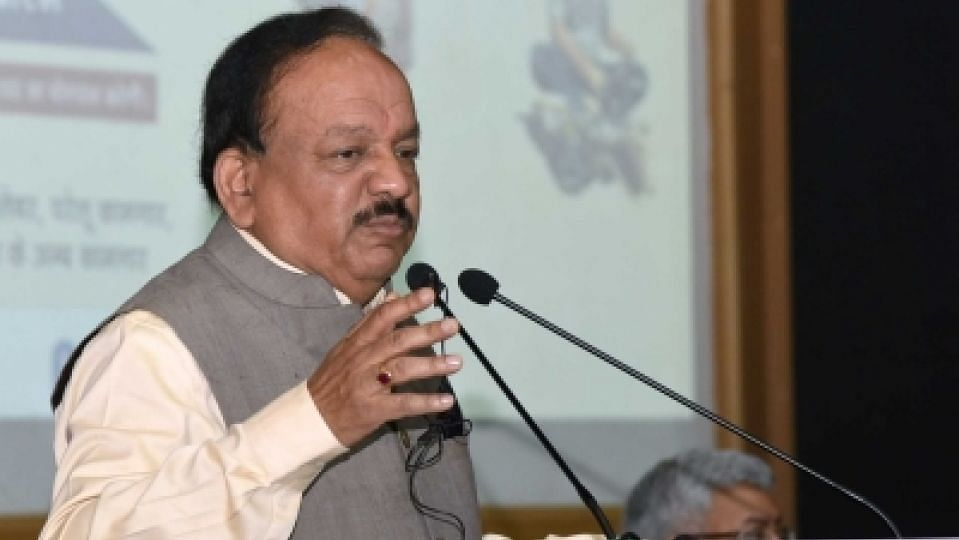 Health Minister Harsh Vardhan Cycles to WHO SEARO Meet