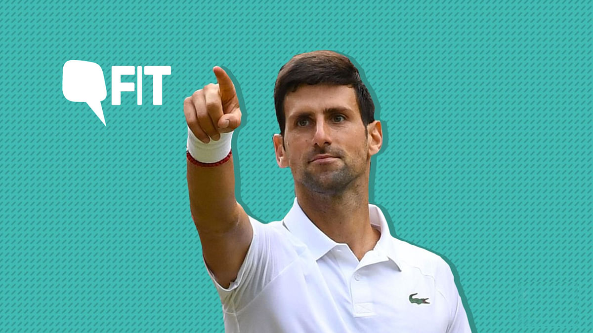 Defending champion Novak Djokovic attributed part of his victory to his 'mental stability'.