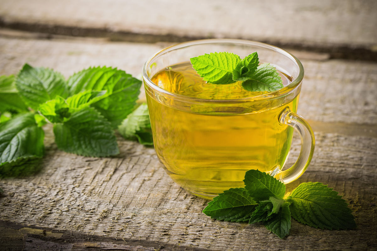 Peppermint is perfect to tackle fevers that arise during monsoon.